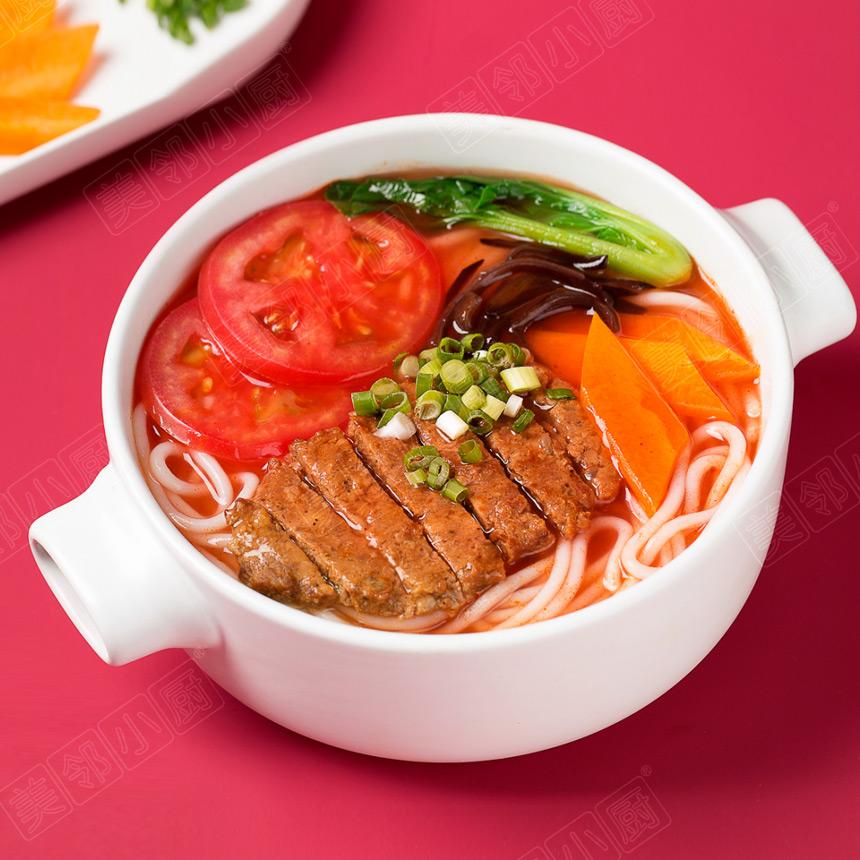 番茄牛排米粉