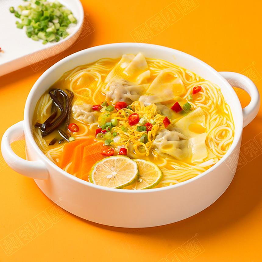 金汤玉米馄饨米线
