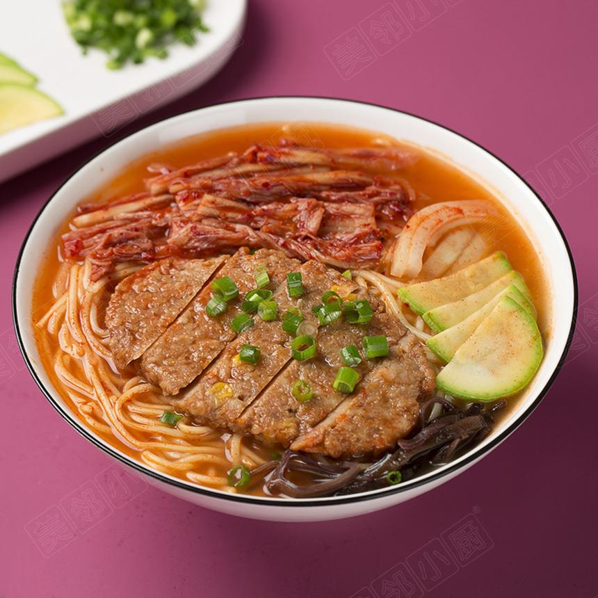 韩式泡菜鸡排面