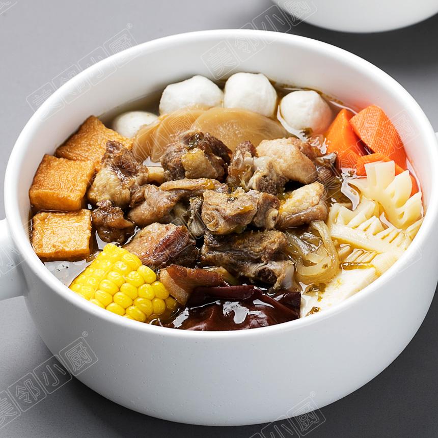 酸萝卜老鸭火锅